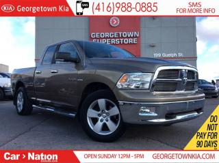 Used 2010 Dodge Ram 1500 SLT | 4X4 | 5.7L HEMI | QUAD CAB | TOUCHSCREEN for sale in Georgetown, ON