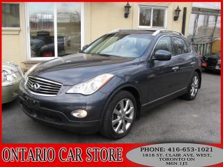 Used 2008 Infiniti EX35 4WD TECH PKG. NAVIGATION 360CAM for sale in Toronto, ON