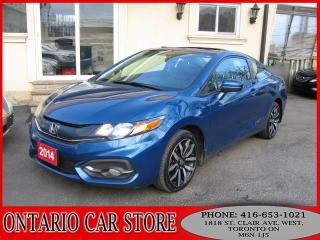 Used 2014 Honda Civic EX-L NAVIGATION LEATHER SUNROOF for sale in Toronto, ON