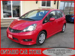 Used 2012 Honda Fit SPORT !!!BALANCE OF FACTORY WARRANTY!!! for sale in Toronto, ON
