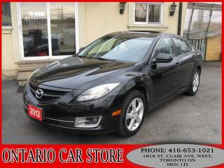 Used 2012 Mazda MAZDA6 GT LEATHER SUNROOF for sale in Toronto, ON