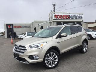 Used 2017 Ford Escape TITANIUM 4WD - NAVI - PANORAMIC ROOF for sale in Oakville, ON