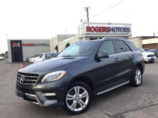 Used 2013 Mercedes-Benz ML 350 BlueTEC - NAVI - PANORAMIC ROOF for sale in Oakville, ON