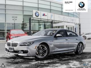 Used 2017 BMW 650i xDrive Gran Coupe REAR VIEW CAMERA | NAVIGATION | SUNROOF for sale in Oakville, ON