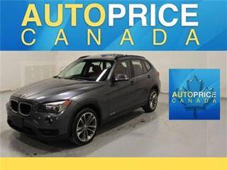 Used 2014 BMW X1 NAVI SPORT PKG PANOROOF P-SEATS for sale in Mississauga, ON