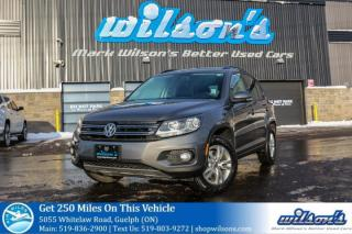 Used 2014 Volkswagen Tiguan TRENDLINE AWD SUV! HEATED SEATS! BLUETOOTH! CRUISE CONTROL! POWER PACKAGE! ALLOYS! ONE OWNER! for sale in Guelph, ON