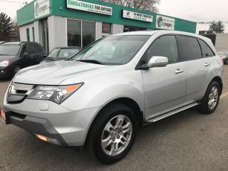 Used 2009 Acura MDX Tech pkg l NAV l Leather for sale in Waterloo, ON