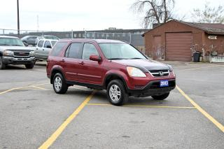 Used 2003 Honda CR-V EXL for sale in Brampton, ON