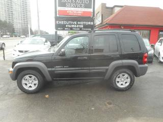 Used 2003 Jeep Liberty ONE OWNER SUPER LOW KMS MINT CONDITION!! for sale in Scarborough, ON