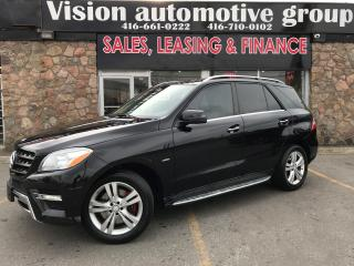 Used 2012 Mercedes-Benz ML 350 ML 350 BlueTEC NAVI BACKUP CAM PANOROOF DIESEL for sale in North York, ON