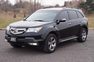 Used 2007 Acura MDX Elite PkgNAVI/DVD/BACKUPCAM Loaded for sale in North York, ON
