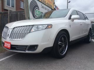Used 2010 Lincoln MKT 132K Self Parking/Nav/Radar Cruise/Bluetooth NICE! for sale in Scarborough, ON