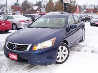 Used 2008 Honda Accord EX-L,Leather,Loaded for sale in Kitchener, ON