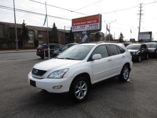 Used 2008 Lexus RX 350 luxury sunroof for sale in Scarborough, ON