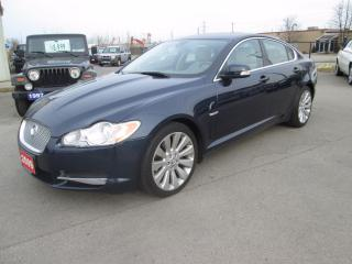 Used 2009 Jaguar XF Premium Luxury for sale in Hamilton, ON