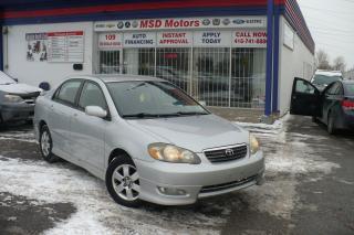 Used 2007 Toyota Corolla Sport for sale in Etobicoke, ON