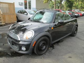Used 2011 MINI Cooper Convertible LEATHER for sale in Scarborough, ON