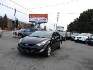 Used 2012 Hyundai Elantra Limited for sale in Scarborough, ON