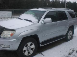 Used 2003 Toyota 4Runner LIMITED V8 for sale in Mansfield, ON