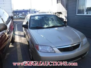 Used 2001 Mazda PROTEGE  4D SEDAN for sale in Calgary, AB