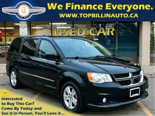 Used 2014 Dodge Grand Caravan Crew, Navi, Backup Cam, DVD, Sunroof & more for sale in Concord, ON