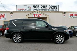 Used 2011 Infiniti QX56 Leather, NAVI, DVD, Sunroof, WE APPROVE ALL CREDIT for sale in Mississauga, ON