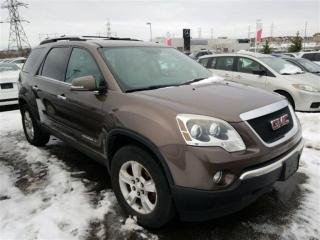 Used 2008 GMC Acadia SLT   Automatic for sale in Whitby, ON