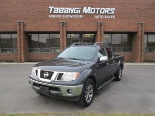 Used 2015 Nissan Frontier SL NAVIGATION LEATHER SUNROOF 4X4 CREW for sale in Mississauga, ON