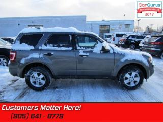 Used 2011 Ford Escape XLT  - Leather Seats -  SYNC for sale in St Catharines, ON