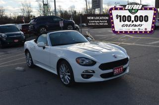 Used 2017 Fiat 124 Spider Lusso - 1.4L Turbo, Back Up Cam, Bluetooth, Heated for sale in London, ON