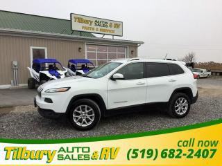 Used 2015 Jeep Cherokee North. ALL TERRIAN. BLUETOOTH. CLEAN. for sale in Tilbury, ON