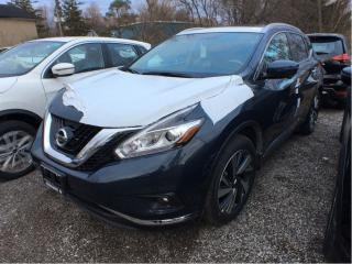 Used 2017 Nissan Murano Platinum AWD CVT for sale in Scarborough, ON