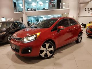 Used 2013 Kia Rio SX w/UVO **ROOF-LEATHER-ONLY 42KM** for sale in York, ON