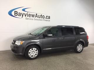 Used 2017 Dodge Grand Caravan SXT- 45 KM|3.6L|ECO MODE|DUAL CLIMATE|CRUISE! for sale in Belleville, ON