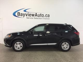 Used 2017 Mitsubishi Outlander - AWD|ALLOYS|HTD STS|REV CAM|BLUETOOTH|CRUISE! for sale in Belleville, ON