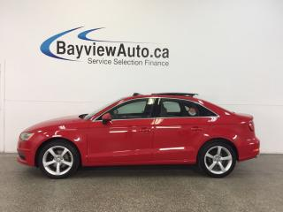 Used 2015 Audi A3 KOMFORT- TDI|AUTO|PANOROOF|LEATHER! for sale in Belleville, ON