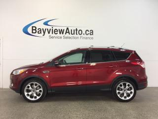 Used 2015 Ford Escape TITANIUM- 4WD|REM STRT|PANOROOF|HTD STS|NAV|SYNC! for sale in Belleville, ON