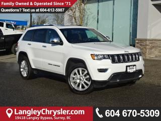 Used 2017 Jeep Grand Cherokee Limited * ACCIDENT FREE * LOCAL BC CAR * DEALER INSPECTED * for sale in Surrey, BC