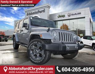 Used 2017 Jeep Wrangler Unlimited Sahara *ACCIDENT FREE* for sale in Abbotsford, BC