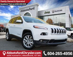 Used 2017 Jeep Cherokee Limited *ACCIDENT FREE* for sale in Abbotsford, BC