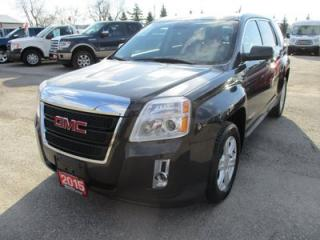 Used 2015 GMC Terrain LOADED SLE EDITION 5 PASSENGER 2.4L - ECO-TEC.. ECO-BOOST.. LEATHER.. BACK-UP CAMERA.. TOUCH SCREEN.. for sale in Bradford, ON