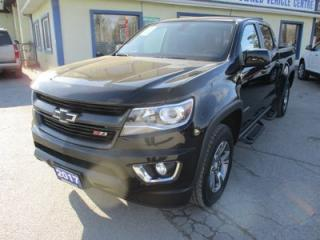 Used 2017 Chevrolet Colorado LOADED Z71 EDITION 5 PASSENGER 3.6L - V6.. 4X4.. CREW.. SHORTY.. FACTORY WARRANTY.. BACK-UP CAMERA.. BLUETOOTH.. for sale in Bradford, ON