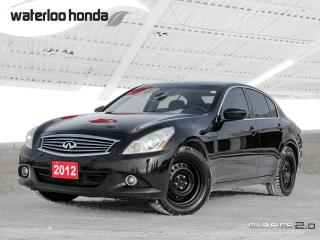 Used 2012 Infiniti G37 X Luxury Bluetooth, Back Up Camera, Navigation, and More!!! for sale in Waterloo, ON