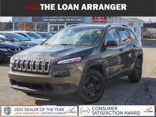 Used 2015 Jeep Cherokee for sale in Barrie, ON