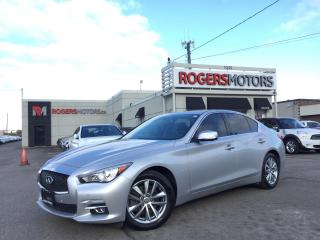 Used 2014 Infiniti Q50 AWD - NAVI - 360 CAMERA - LEATHER for sale in Oakville, ON