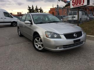 Used 2006 Nissan Altima 2.5S.185KM,SAFETY+3YEARS WARRANTY INCLUDED for sale in North York, ON