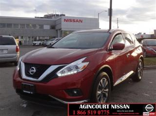 Used 2017 Nissan Murano SL AWD CVT |Leather|Panoramic Roof|360 Camera|Heat for sale in Scarborough, ON