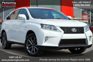 Used 2015 Lexus RX 350 F-Sport for sale in Pickering, ON