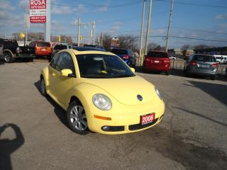 Used 2008 Volkswagen Beetle AUTO SUNROOF LOW KM ALLOY PL PW  HEATED SEAT CRUSE for sale in Oakville, ON