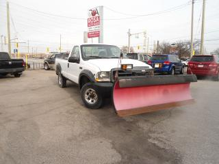 Used 2002 Ford F-250 F250 SUPER DUTY SNOW PLOW LOW KM for sale in Oakville, ON